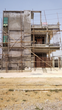 181 Square Yards East facing Independent house for sale at Orched Extence Colony RCI Road | Balapur