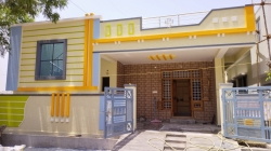 East facing 136 Square Yards Independent house for sale at Anji Reddy colony RCI Road Balapur