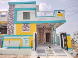 166 Square Yards east facing Independent ready-to-move-in house for sale at Vishaka colony, Almasguda, Badangpet Negotiable