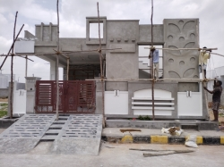 167 Square Yards West facing 2BHK house for sale at Gowrelli, Abdullapurmet