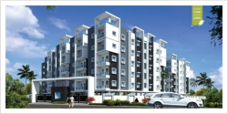 3BHK West Facing Flat 1611 SFT for sale at Gulmohar Park Colony, Serilingampalle