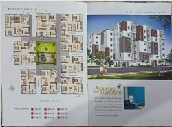 3BHK East Facing 1475 SFT Flat for sale at Dubey Colony Road, Lingampally