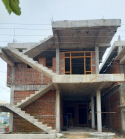 132 Square Yards east facing Independent G+1 house for sale at Sri Sai Happy Homes, Manneguda, Turkayamjal