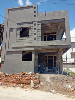 167 Square Yards east fcing Residential G+1 house for sale at Lakshmi Narasimha Colony, Mallikarjun Hills, Nagole
