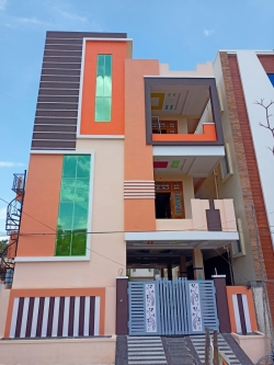 147 Square Yards east fcing Residential G+2 house for sale at Shiva Puri Colony, AHS Colony, Ajay Nagar, Nagole