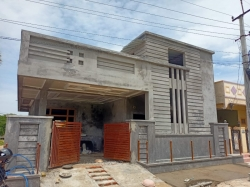 196 Square Yards north-east facing Residential house for sale at Sai Suprabhath Colony Main Rd, Puttulaguda, Nagole