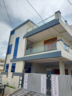 208 Square Yards east fcing Residential G+2 house for sale at Shiva Puri Colony, AHS Colony, Ajay Nagar, Nagole