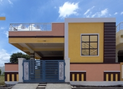 163 Square Yards Independent west facing house for sale at Parvathapur, Peerzadiguda