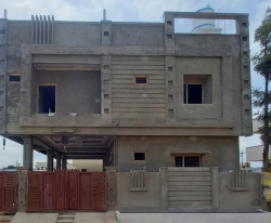 203 Square Yards west facing Residential G+1 house for sale at Telephone Colony, Buddha Nagar, Uppal