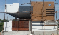 135 Square Yards west facing residential 2BHK house for sale at Chengicherla, Akshaya Encleave