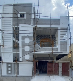155 Square Yards east facing residential 4BHK ready to move in house for sale at Hyderabad Shah Guda