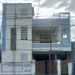 155 Square Yards east facing independent 4BHK under construction house for sale at Hyderabad Shah Guda