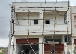 151 Square Yards independent 4BHK under construction semi-commercial house for sale at Gandamguda