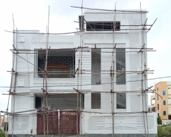175 Square Yards west facing residential 4BHK ready to move in house for sale at Gandamguda