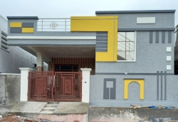 150 Square Yards west facing residential 2BHK under construction house for sale at Shan Guda