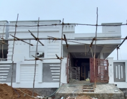 200 Square Yards east facing 2BHK under construction house for sale at Badangpet