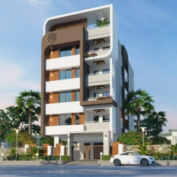 3BHK north facing flat of 2000 SFT for sale at Phanigiri Colony, Kothapet, Hyderabad