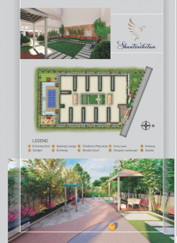 3BHK east facing flat of 1315 SFT for sale at Manneguda, Turkayamjal, Hyderabad.